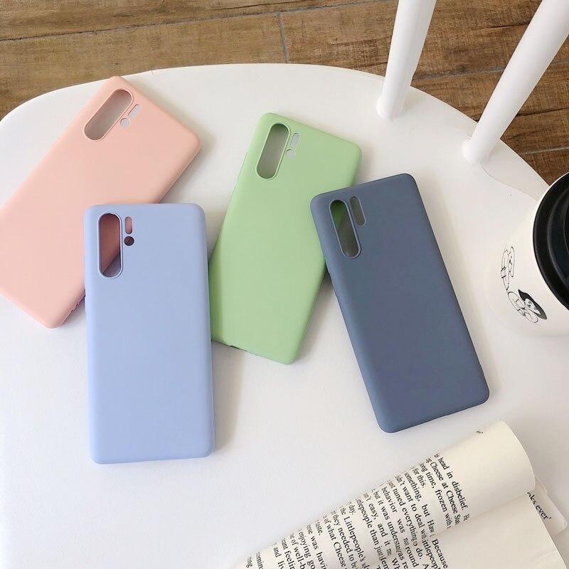 Candy Liquid Silicone Case For Samsung Galaxy S8 S9 S10 Plus Note 8 9 10 PRO A10S A20E A30 A40 A50 A80 A70 A90 A750 A51 A71
