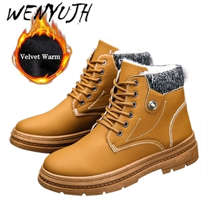WENYUJH New Warm Snow Boots Me