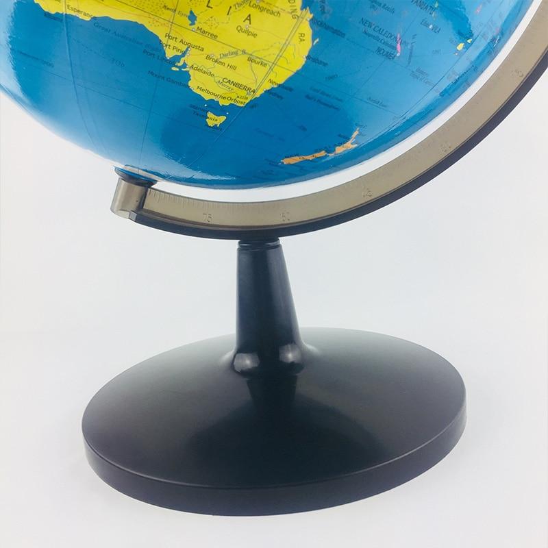 Глобус мира, 12,6 дюймов Глобус идеальный вращающийся глобус для детей, студентов по географии, учителя, легко Вращающийся Поворотный