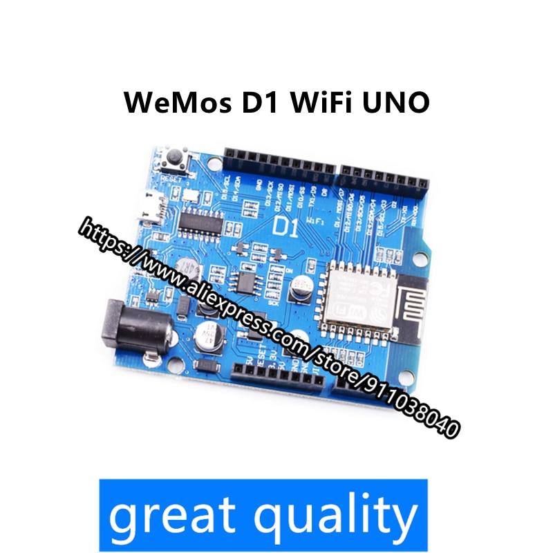 WeMos D1 WiFi UNO module ESP8266 directly use IDE wireless module