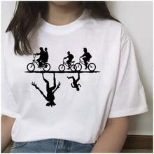 New Stranger Things 3 Printed tshirt Summer Upside Down Eleven Vogue T shirt Short Sleeve Fashion Clothing top tees