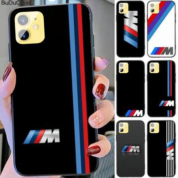 Riccu Top car BMW Phone Case for iPhone 11 pro XS MAX 8 7 6 6S Plus X 5S SE XR case image