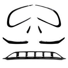 Upscale2021 Voor Is Modificatie Lip Wind Blade Omgeven Door De Front Bar Van Mercedes Benz Cla C117 cla200