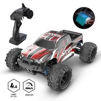 DEERC-Coche todoterreno teledirigido RC 4WD, vehículo de gran velocidad de 40+ KMH a escala 1:18, camioneta con control remoto para jugar 40+ min, juegos y regalos para niños y adultos