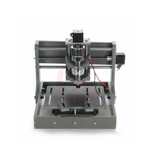 LY 300w DIY mini cnc machine 2020 wood router machine with cutter and collet