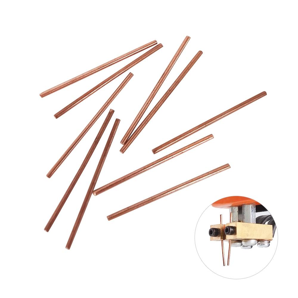 10Pcs Spot Welder Pin Fixed Welding Copper Needles Used For JST-IIS Battery Spot Welding Machine High Quality Replace Solder Pin