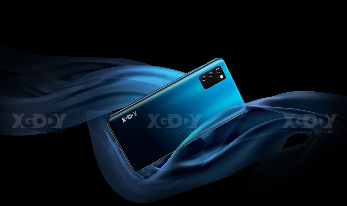"XGODY NOTE 10 Android 9.0 4G mobile phones 2GB RAM 16GB ROM Face ID 5MP Camera Dual SIM GPS WIFI 7.2"" 19:9 smartphone Quad Core"