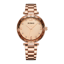 Ruimas Women Watches Top Brand New Quartz Orologio Donna Luxury Bracelet Watch Waterproof Stainless Steel Links 529