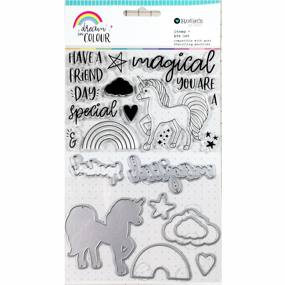 CRZCrafter Clear Stamp And Metal Cutting Dies Set Scrapbooking Cardmaking Journal Stamp And Cutting Dies