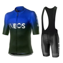 2020 INEOS nw 남자 사이클링 저지 세트 통기성 남자 사이클링 의류 키트 트라이 애슬론 자전거 mtb 의류 maillot ciclismo hombre