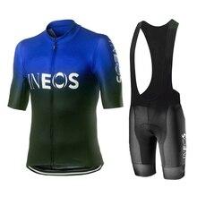 2020 INEOS nw גברים רכיבה על אופניים ג רזי סטים לנשימה גברים של ערכות ביגוד רכיבה טריאתלון אופני mtb בגדי מאיו ciclismo hombre