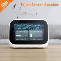 Xiaomi-altavoz con pantalla táctil y Bluetooth 5,0, altavoz inteligente con pantalla Digital de 3,97 pulgadas, alarma y conexión WiFi para el hogar