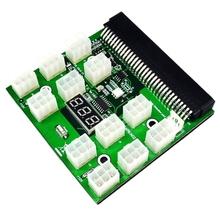 SHGO HEIßER-12 Port 6 Pin Power Adapter Board Bild Karte Server 6 P Power Umwandlung Bord für eine vielzahl von Server Power Liefert cheap NONE CN (Herkunft)