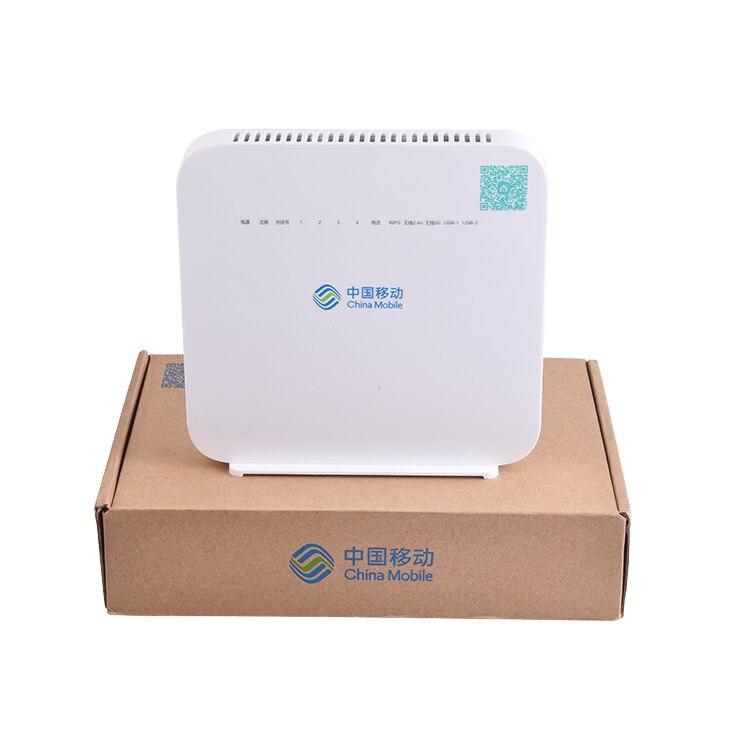50 Uds Alcatel Lucent Gpon G-140W-MF ayu 4GE + 1 Voz + 2USB + WIFI 2,4G y 5G FTTH gpon NR enrutador modo inglés Firmware HUAWEI HS8145V HGU Dual banda Router 4GE + Wifi 2,4 GHz/5 GHz WiFi EPON/GPON ONU ONT FTTH modo Termina Gpon de fibra Router de red