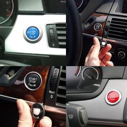 Car Engine START Button Replace Cover STOP Switch Accessories Z4 Series 5 X6 E91 X1 E89 E60 Key Decor E87 X5 For BMW E71 3 G3N4