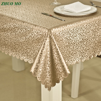 Luxury waterproof anti-hot oil table cloth Jacquard printed flower tablecloth pattern checked Rectangular Round table cloth фронтальная панель 170 см am pm inspire 2 0 w52a 170 075w p