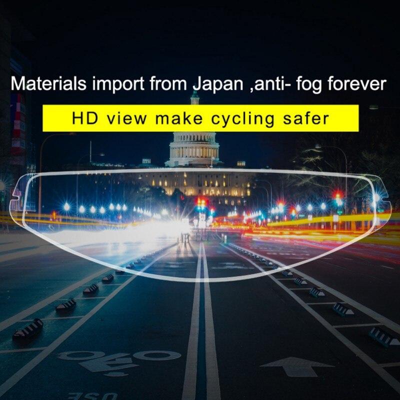 New Pinlock Anti-Fog Helmet Film Motorcycle Antifog Lens Patch Motorbike For K1 K3SV K5 Helmet Accessories