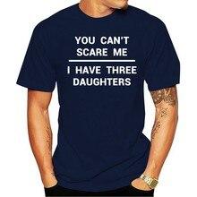 2021 moda 100% algodão camiseta 3 fihas gravado dia dos pais presente pai marido avô (2)