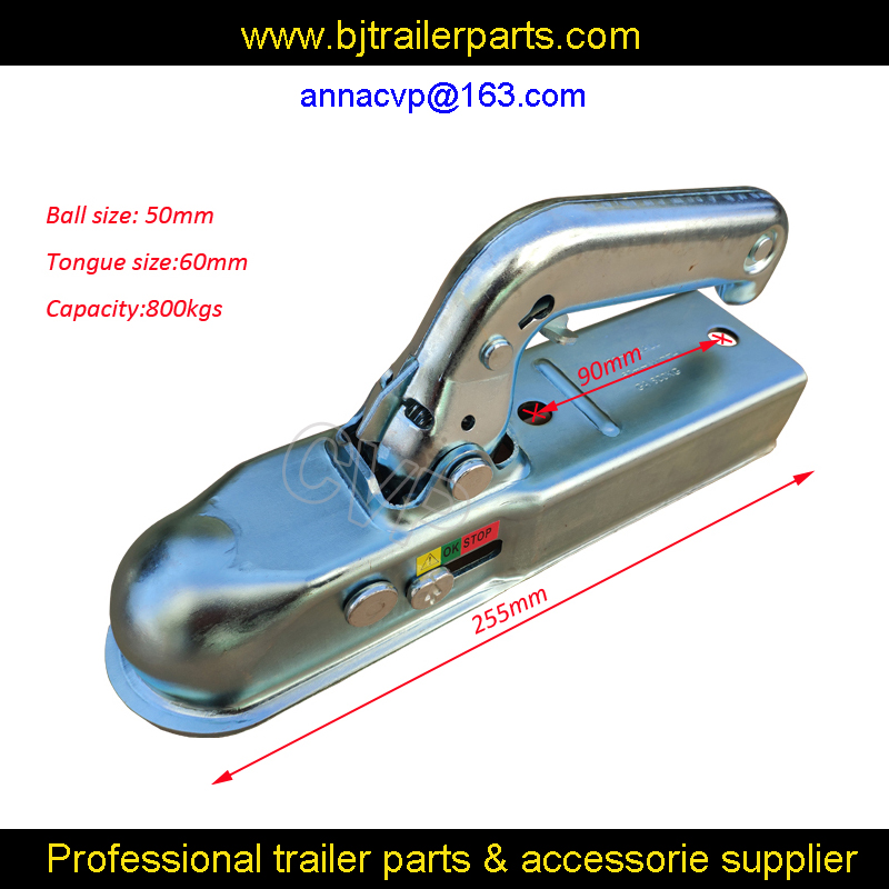 Coupling Trailer Lock for Pressed Steel Hitches