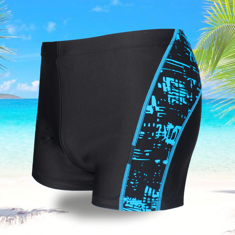 2018 New Style Men Hot Sales Europe And America-Style Hot Selling Large Size Bikini Beach Shorts Swimming Trunks