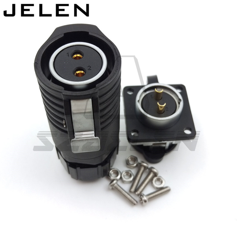 High Quality DC Volt M20 2 3 4 5 7 9 12 Pin Circular Industrial Male&Female Plug And Socket Solar Energy DC Waterproof Connector Connectors     - title=