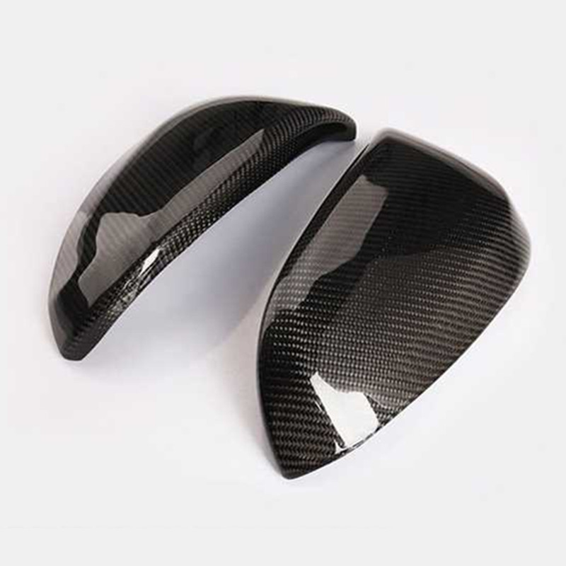 For Toyota RAV4 <font><b>RAV</b></font> <font><b>4</b></font> <font><b>2014</b></font> 2015 2016 2017 Car Rear View Mirror Cover Rearview Mirror Trim Sticker Accessories 2PCS image