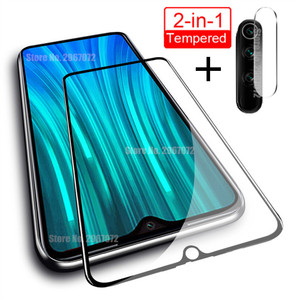 2-In-1 Screen Protector For Redmi Note 7 Pro 8T 8 Camera Glass Tempered Protective Film For Xiaomi Redmi 8 8A 7 7A Phone Glass(China)