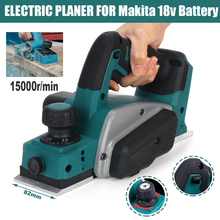 Electric-Planer Battery Hand-Held Cordless Makita Drillpro 18V 15000rpm for Wood-Cutting