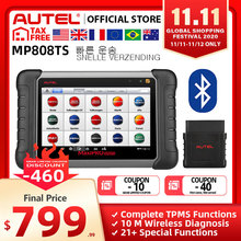Autel MaxiPRO MP808TS Professional AutoDiagnostic Tool Scanner TPMS Oil Reset EPB BMS SAS DPF IMMO As DS808 + TS601 PK MK808