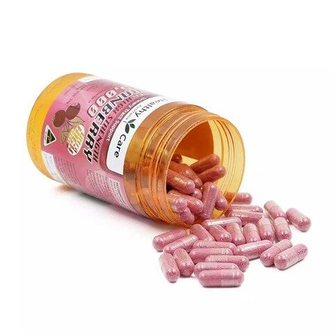 cuidados saudavel 90 cranberry 25000mg capsulas alivio