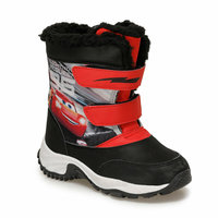 Boys Boots Shoes Spring Autumn Red PU Children's Leather Fashion Kids Warm Winter Rubber Waterproof Snow Rain Baby Water