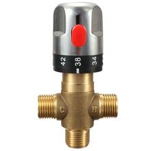 Труба термостата кран Термостатический смесительный клапан ванная комната контроль температуры воды картриджи крана, солнечный водонагреватель термос