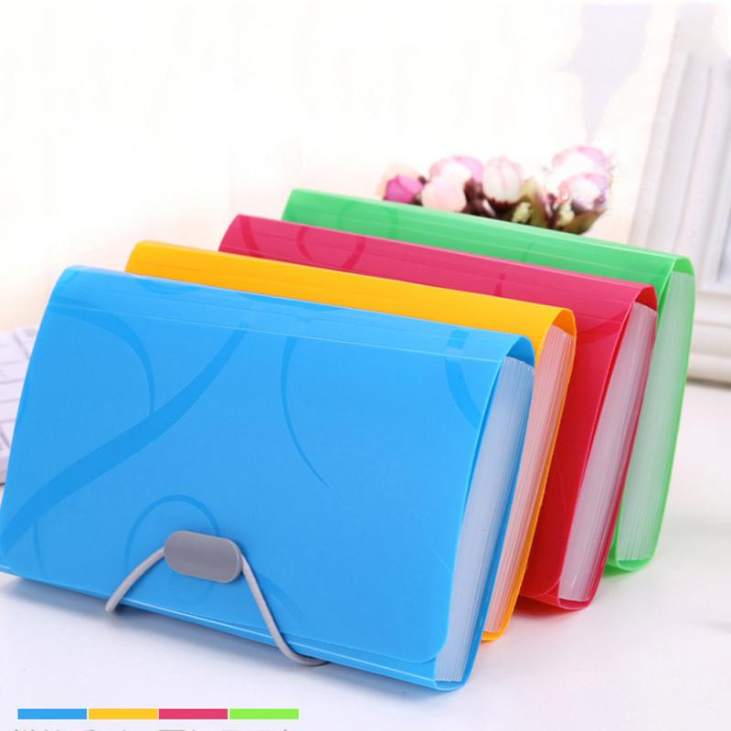 Bill Pockets Document Bag File Holder Folder Expanding File Storage Bag Organizer Accordion Letter Paper Document Organizer
