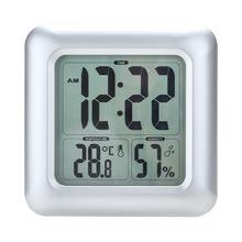 Часы настенные с таймером и гигрометром водонепроницаемые цифровые