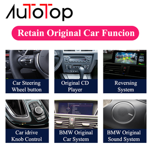 Image 3 - AUTOTOP 1din 10.25 IPS screen Android 10.0 Car Radio GPS Navigation For BMW F30/F31/F34/F20/F21/F32/F33/F36 NBT (2013 2017)