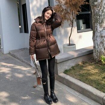Mega Discount 3fbd Women S Korean Winter Down Jacket Hooded Duck Down Jacket For Women Chaqueta Mujer Invierno Kj3701 Cicig Co