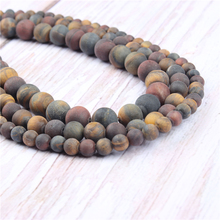 Three Color Tiger Natural?Stone?Beads?For?Jewelry?Making?Diy?Bracelet?Necklace?4/6/8/10/12?mm?Wholesale?Strand