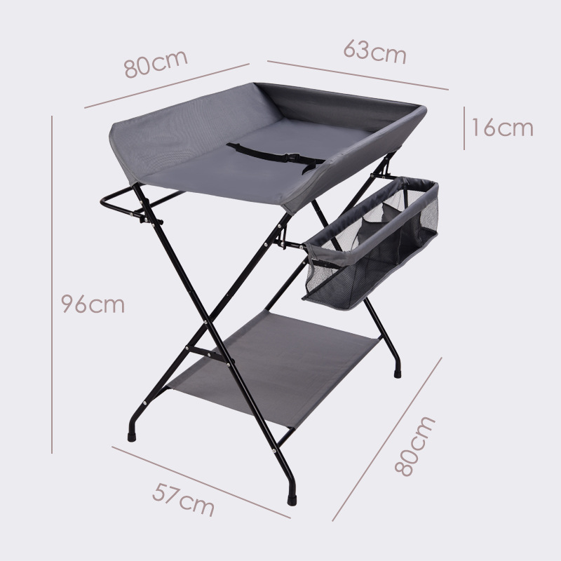 Foldable Portable Baby Diaper-changing Table Newborns Baby Caring Table Baby Massage Shower Huanyi Units