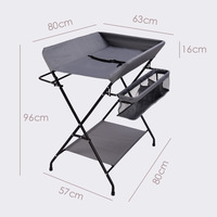 Foldable Portable Baby Diaper changing Table Newborns Baby Caring Table Baby Massage Shower Huanyi Units