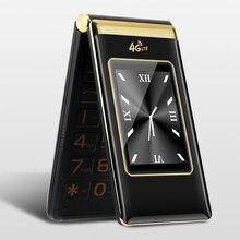Flip Große Tastatur 3G WCDMA 2G GSM dual-karte Laut Sound Schnell Zifferblatt SOS MP3 rekord telefon Russische Tastatur Taste