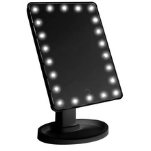 22 LED lights Touch Screen Espejo Para Maquillarse Tabletop Cosmetic light up Mirror Beauty360 Degree Rotation Make