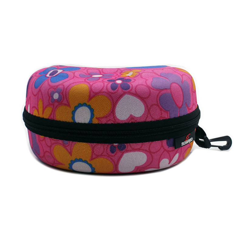Adult Child Snow Ski Eyewear Case  Portable Water Resistant Snowboard Skiing Goggles  Carrying Case Zipper Hard Box