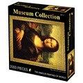 2000 peças de quebra-cabeça adulto crianças menino menina brinquedo mundialmente famoso pintura van gogh mona lisa