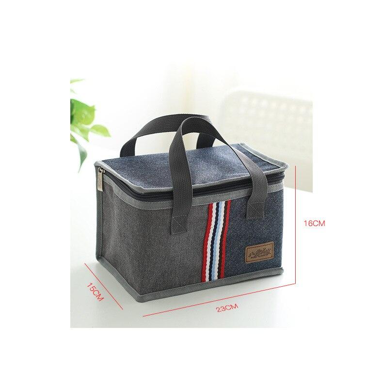 Um novo tipo de oxford saco de frutas à mão saco para almoço