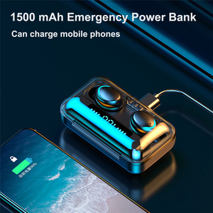 Image 3 - Lovebay 무선 이어폰 F9 5 TWS Bluetooth 5.0 LED 디스플레이 8d베이스 스테레오 이어폰 이어폰 핸즈프리 Hifi 헤드셋 헤드폰