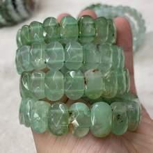 Браслет из натурального циризопраз камень бусы браслет натуральный