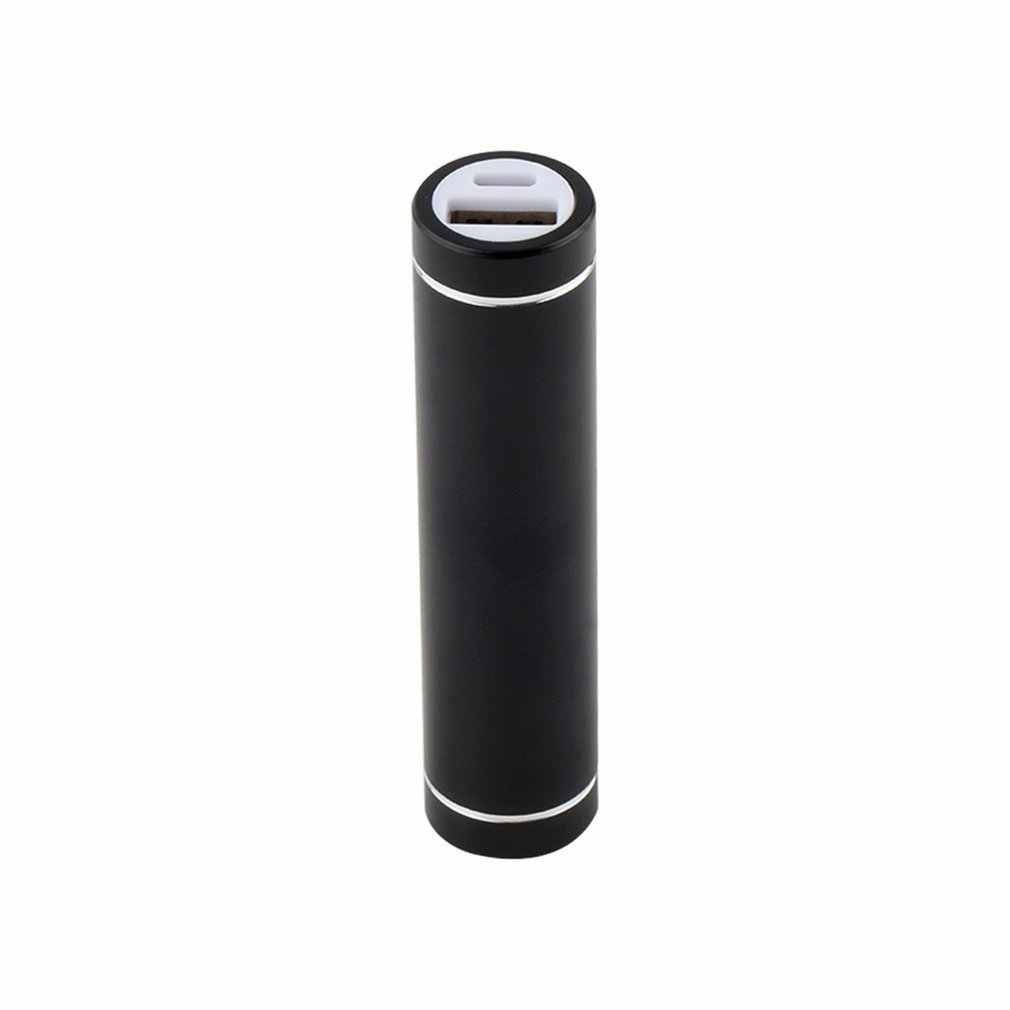 عالية الجودة متعدد الألوان جديد الصلب العالمي USB 5 فولت 1A موبايل قوة البنك حزمة شاحن 18650 صندوق علبة البطارية الخارجية عدة