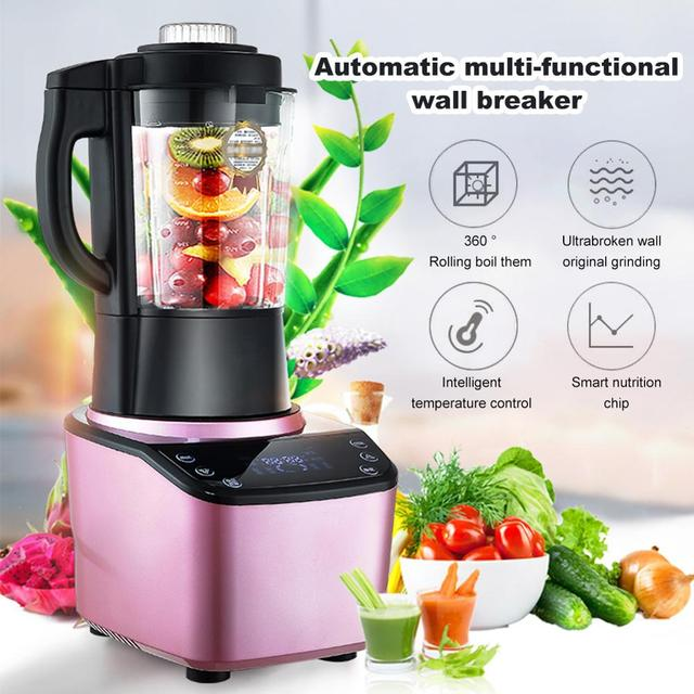Multifunctional Blender Household Blender with Heating Element Full-Automatic Soybean Milk Machine Food Processor 398H 5