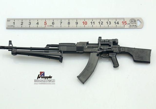 1:6 PPK-74 Soldier 2014D Assembly Model RPK74M Automatic Rifle Model 4