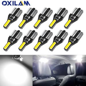 10x T10 светодиодный W5W 194 автомобильный светильник s для Honda Civic Accord CRV HRV Jazz Fit NC750X Автоматическая внутренняя светодиодная подсветка светодиодны...